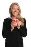 Businesswoman  With Coffee Cup Royalty Free Stock Photography