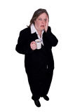 Businesswoman with coffee cup Royalty Free Stock Photos