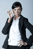 Businesswoman (Cold-Ver) Stock Photo