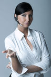Businesswoman (Cold-Ver) Royalty Free Stock Photos