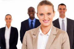 Businesswoman colleagues Royalty Free Stock Photos
