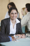 Businesswoman At Conference Stock Images