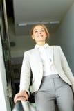 Businesswoman in corridor Royalty Free Stock Photo