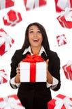 Businesswoman creative design Royalty Free Stock Photo
