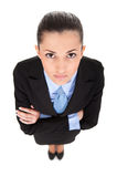 Businesswoman with crossed arms Royalty Free Stock Image