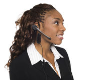 Businesswoman - Customer Service Royalty Free Stock Photo
