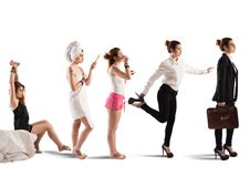 Businesswoman day Royalty Free Stock Images