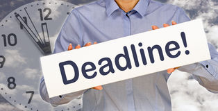 Business deadline Stock Photos