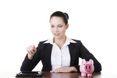 Modern banking concept. Stock Photography