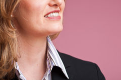 Businesswoman detail stock image