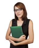 Businesswoman with diary Stock Photos