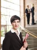 Businesswoman facing the camera Royalty Free Stock Photos