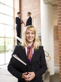 Businesswoman facing the camera Royalty Free Stock Photo