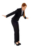 Businesswoman falling down Stock Photography