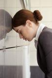 Businesswoman. Fatigue. Stock Photos