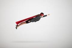 Businesswoman flying Stock Photo