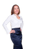 Businesswoman in formal clothes Royalty Free Stock Photo
