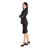 Businesswoman full length Stock Photography