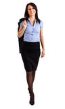 Businesswoman full length Royalty Free Stock Images