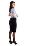 Businesswoman full length Royalty Free Stock Photos