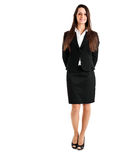 Businesswoman full length Royalty Free Stock Photography