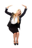 Businesswoman full length Stock Photography