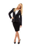 Businesswoman full length Stock Images