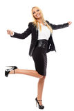 Businesswoman full length Stock Photos