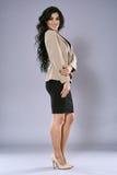 Businesswoman full length portrait Stock Photos