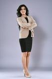 Businesswoman full length portrait Stock Photography