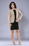 Businesswoman full length portrait Stock Images