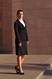 Businesswoman full lenth portrait Royalty Free Stock Images