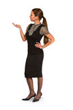 Businesswoman gesturing Royalty Free Stock Photo