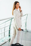 Businesswoman on the go. Stock Photos