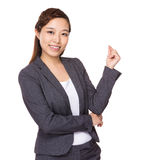 Businesswoman got an idea Royalty Free Stock Photos