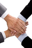 Businesswoman handshake stock photo