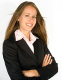 businesswoman happy Στοκ φωτογραφίες με δικαίωμα ελεύθερης χρήσης