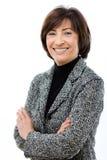 businesswoman happy Στοκ εικόνα με δικαίωμα ελεύθερης χρήσης
