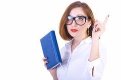 Businesswoman has an idea Stock Images