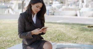 Businesswoman Having A Conversation Royalty Free Stock Photo