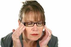 Businesswoman With Headache Royalty Free Stock Photo