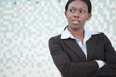 Businesswoman headshot Stock Photography