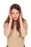 Businesswoman - Hear No Evil Stock Photos