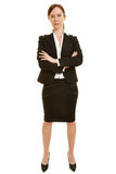 Businesswoman with her arms crossed Royalty Free Stock Photo
