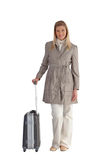 Businesswoman on her travels Royalty Free Stock Photo