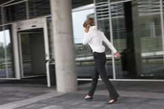 Free Businesswoman In A Hurry Royalty Free Stock Photo - 954735