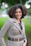 Businesswoman In Nature Royalty Free Stock Image