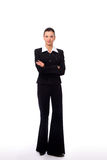 Businesswoman isolated Stock Image