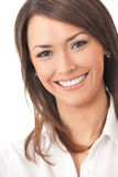 Businesswoman, isolated Royalty Free Stock Image