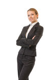Businesswoman, isolated Royalty Free Stock Photos